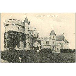 carte postale ancienne 64 HENDAYE. Château Abbadie