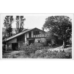 carte postale ancienne 64 HENDAYE. Ferme basque Bois de Saskoénéa. Carte Photo animée