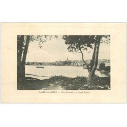 carte postale ancienne 11 CASTELNAUDARY. Vue du Grand Bassin