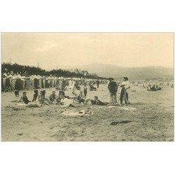 carte postale ancienne 64 HENDAYE. Le Bain de Soleil