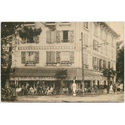 carte postale ancienne 64 HENDAYE. Royal's Restaurant Hôtel Pâtisserie