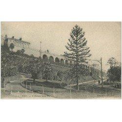 carte postale ancienne 64 PAU. Avenue Léon Say. Collection ND