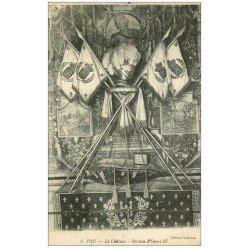 carte postale ancienne 64 PAU. Berceau d'Henri IV au Château