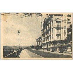 carte postale ancienne 64 PAU. Boulevard des Pyrénées 1946