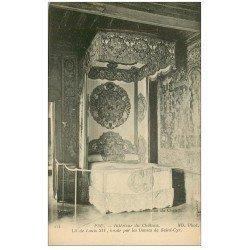 carte postale ancienne 64 PAU. Château Lit Louis XIV