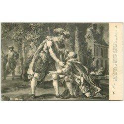 carte postale ancienne 64 PAU. Château. Tapisserie Beauvais avec Sully