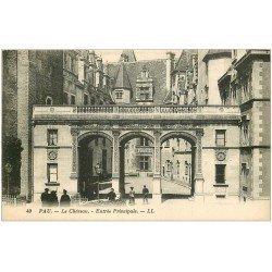 carte postale ancienne 64 PAU. Entrée du Château
