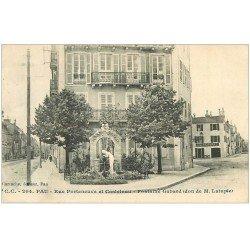 carte postale ancienne 64 PAU. Fontaine Gabard Rue Porteneuve et Castelnau. Dexpers