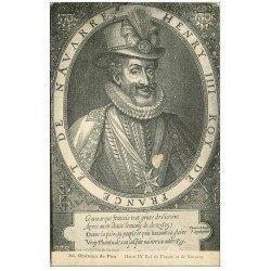 carte postale ancienne 64 PAU. Henri IV au Château