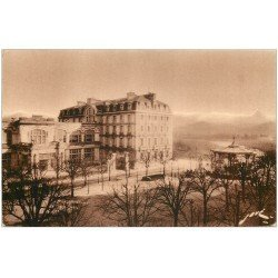 carte postale ancienne 64 PAU. Hôtel de France