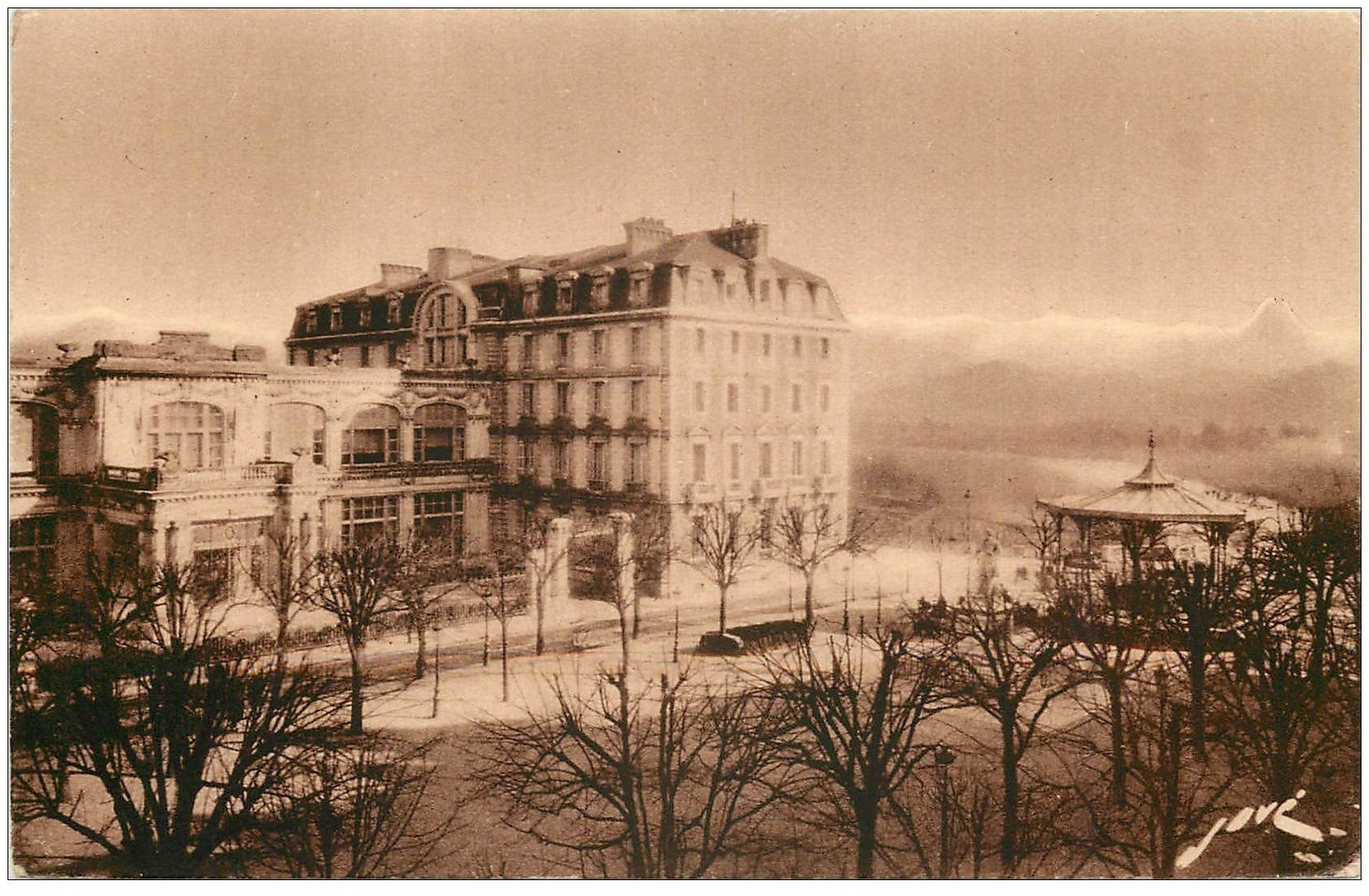 64 pau h tel de france for Carte de france hotel