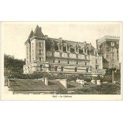 carte postale ancienne 64 PAU. Le Château
