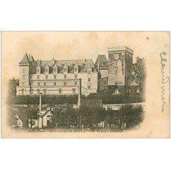 carte postale ancienne 64 PAU. Le Château 1903