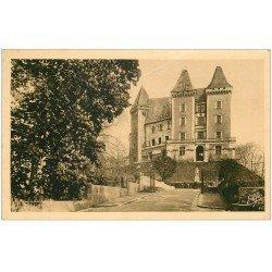 carte postale ancienne 64 PAU. Le Château 1942