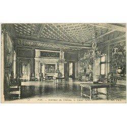 carte postale ancienne 64 PAU. Le Château Grand Salon