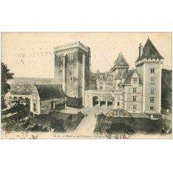 carte postale ancienne 64 PAU. Le Château n° 1 en 1925