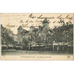 carte postale ancienne 64 SAINT-JEAN-DE-LUZ. Maison Louis XIV vers 1920