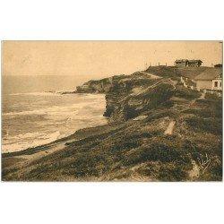 carte postale ancienne 64 SAINT-JEAN-DE-LUZ. Rocher de Sainte-Barbe