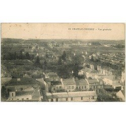 carte postale ancienne 02 CHATEAU-THIERRY. Vue générale 1915