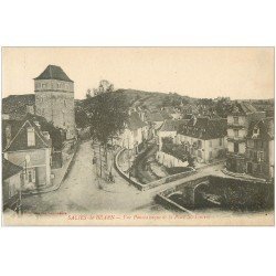 carte postale ancienne 64 SALIES-DE-BEARN. Place Saint-Vincent