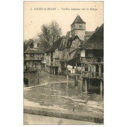 carte postale ancienne 64 SALIES-DE-BEARN. Vieilles Maison n°4
