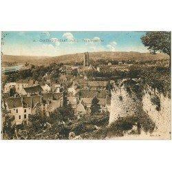 carte postale ancienne 02 CHATEAU-THIERRY. Vue panoramique (plissure coin gauche)...