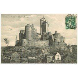 carte postale ancienne 47 CHATEAU DE BONAGUIL 1913