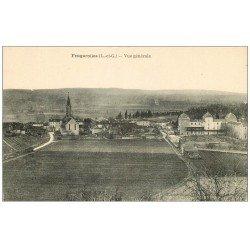 carte postale ancienne 47 FEUGAROLLES. Vue générale