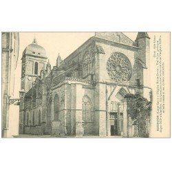 carte postale ancienne 47 MARMANDE. Eglise Notre-Dame