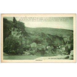 carte postale ancienne 48 CASTELBOUC