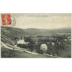 carte postale ancienne 48 LE MALZIEU. Moulin de la Truyère 1909