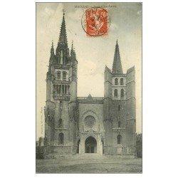 carte postale ancienne 48 MENDE. Les Clochers 1912