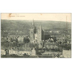 carte postale ancienne 48 MENDE. Vue Centrale 1907