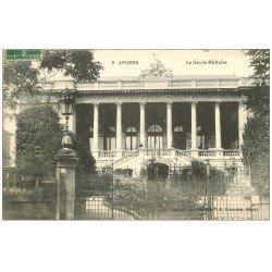 carte postale ancienne 49 ANGERS. 1916 le Cercle Militaire. Edition au Pêle Mêle