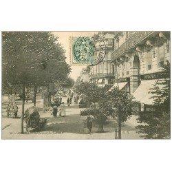 carte postale ancienne 49 ANGERS. Boulevard de Saumur 1907
