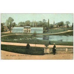 carte postale ancienne 49 ANGERS. Le Jardin Botanique. Ed Aqua-Photo