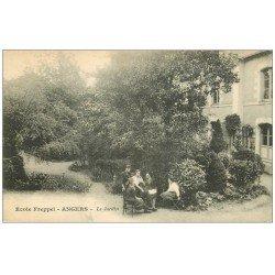 carte postale ancienne 49 ANGERS. Le Jardin Ecole Freppel