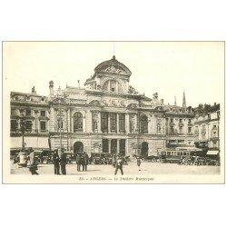 carte postale ancienne 49 ANGERS. Le Théâtre Municipal
