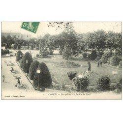 carte postale ancienne 49 ANGERS. Pelouse du Jardin du Mail 1916