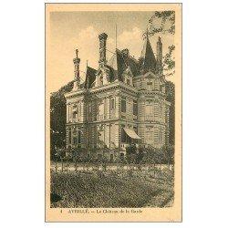 carte postale ancienne 49 AVRILLE. Château de la Garde