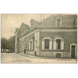 carte postale ancienne 49 BAUGE. Bureau Poste et Télégraphe