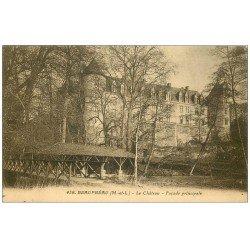carte postale ancienne 49 BEAUPREAU. Le Château