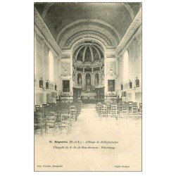 carte postale ancienne 49 BREGOLLES. Chapelle Abbaye Bellefontaine