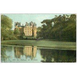 carte postale ancienne 49 BRISSAC. Le Château (mini défaut au centre)...