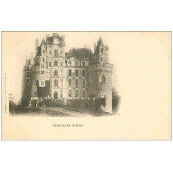 carte postale ancienne 49 BRISSAC. Le Château vers 1900