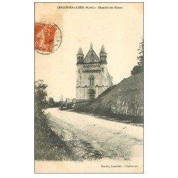 carte postale ancienne 49 CHALONNES-SUR-LOIRE. Chapelle des Usines 1916