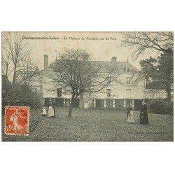 carte postale ancienne 49 CHALONNES-SUR-LOIRE. Château des Fresnais 1913