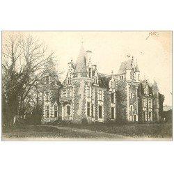 carte postale ancienne 49 CHAMPTOCE. Château du Pin 1904