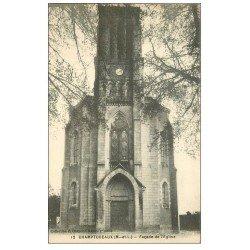 carte postale ancienne 49 CHAMPTOCEAUX. Eglise