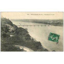 carte postale ancienne 49 CHAMPTOCEAUX. La Loire 1912